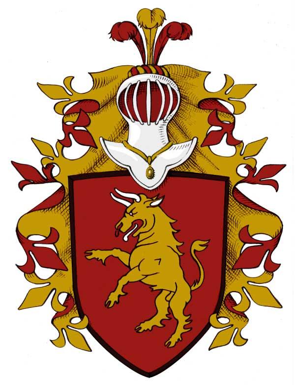heraldisk skjold 4 tegnebrættet-dk